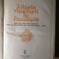 Istoria Vanatorii In Romania - Ion Nania, 385271 - Carti Agronomie