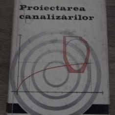 Proiectarea Canalizarilor - E. Blitz, 385128 - Carti Constructii