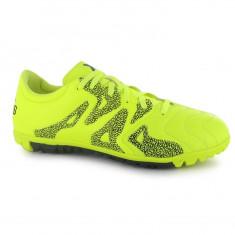 Ghete de fotbal Adidas X 15.3 AT ORIGINALI 42 din piele - Ghete fotbal Adidas, Culoare: Verde, Barbati, Teren sintetic: 1, Iarba: 1