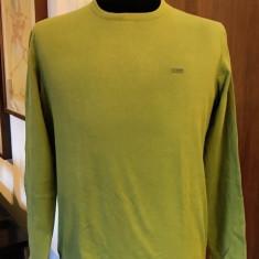 Bluza barbati originala MARC O'POLO, mas. L, Marime: L, Culoare: Verde, Bumbac