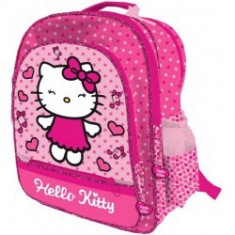 Ghiozdan/rucsac 41 cm Hello Kitty, Roz