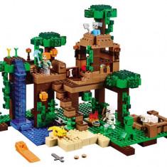 LEGO® LEGO® Minecraft™ Casuta din jungla - 21125