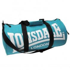 Geanta de sala fitness Lonsdale barrel bag IN STOC ! - Geanta Barbati Lee Cooper, Marime: Masura unica, Culoare: Bleumarin, Geanta tip postas, Bumbac