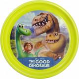 Farfurie plastic Bunul Dinozaur Lulabi 8005901 Verde - Vesela bebelusi