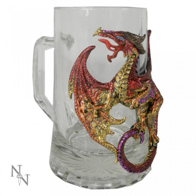 Halbă sticlă Licoarea dragonului foto