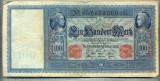 A1732 BANCNOTA-GERMANIA- 100 MARK -21.4.1910-SERIA8799266 -starea care se vede
