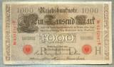 A1745 BANCNOTA-GERMANIA- 1000 MARK 21.4.1910-SERIA4292867 -starea care se vede