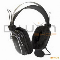 A4Tech HS-60, Headphone, Microphone - Casca PC