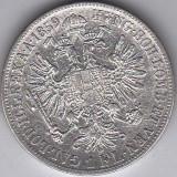 1 Florin Forint Gulden 1859 B Austria Ungaria argint 12, 3 gr.cotatie ridicata 1, Europa
