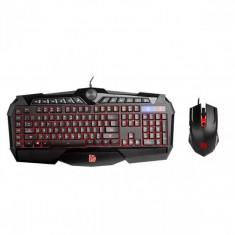 Kit mouse si tastatura gaming ThermalTake Tt eSports Challenger Prime RGB