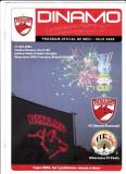 Program oficial-meci fotbal DINAMO BUCURESTI - HIBERNIANS FC PAOLA 27.07.2006