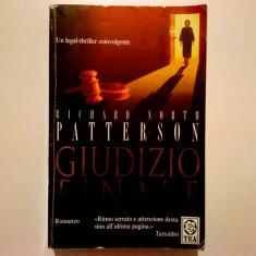 Richard North Patterson - Giudizio finale - Carte Literatura Italiana