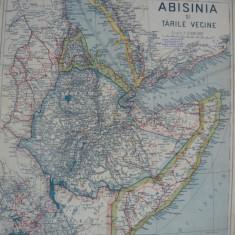 Harta - Abisinia si tarile vecine