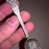 Lingurita cu blazon argint 800 Turcia, Tacamuri