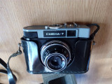 Cumpara ieftin APARAT FOTO VINTAGE CU FILM SMENA 7  ,CU HUSA ORIGINALA   -FUNCTIONAL