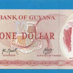 Guyana 1 dollar 1966 1992 UNC B - bancnota america