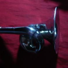 Minitrompeta metal nichelat, h= 13, 2 cm