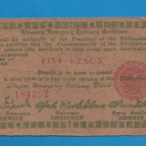 Filipine 5 pesos 1944 2 - bancnota asia