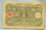 A1864 BANCNOTA - GERMANIA- 1 MARK -1.3.1920-SERIA 105696-starea se vede
