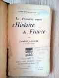 CARTE VECHE - ISTORIA FRANTEI , 1920 -D HISTOIRE DE FRANCE
