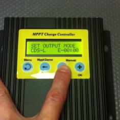 CONTROLLER SOLAR MPPT Controler pentru panouri solare fotovoltaice 12V 24V 20A