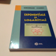 EXPONENTIALE SI LOGARITMI - Gheorghe Andrei,RF14/4