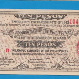 Filipine 10 pesos 1942 UNC - bancnota asia
