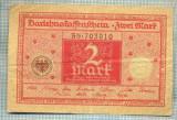 A1867 BANCNOTA - GERMANIA- 2 MARK -1.3.1920-SERIA703910-starea se vede
