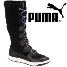 Cizme de iarna pentru femei Puma Snow Alpine Boot Black (PUM-10001-BCK) - Cizma dama Puma, Culoare: Negru, Marime: 38, Negru