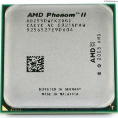 Phenom II X2 Dual Core 550 3, 1ghz Socket Am3 - Procesor PC AMD, AMD, AMD Phenom II, Numar nuclee: 2, Peste 3.0 GHz