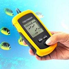 Sonar Fish Finder portabil ULTIMUL MODEL, undita pescuit peste - NOU, SIGILAT ! - Sonar Pescuit