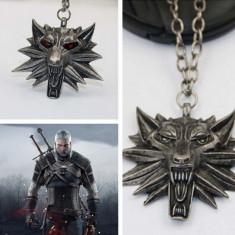 Pandantiv Lantisor Medalion The Witcher 3 Wild Hunt 5 modele