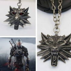 Pandantiv Lantisor Medalion The Witcher 3 Wild Hunt 5 modele