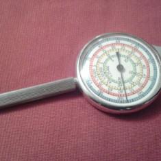 Curbimetru militar,instrument masurat harti