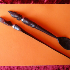 ARTA AFRICANA DIN LEMN DE ABANOS TACAMURI - Arta din Africa
