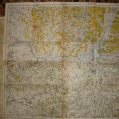 Harta Transilvaniei - Tg. Mures, Turda, Medias, Blaj