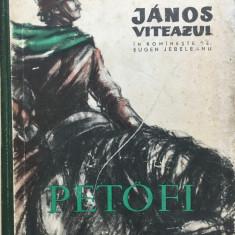 JANOS VITEAZUL - Petofi Sandor - Carte poezie copii