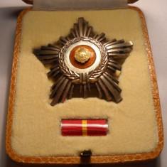 Ordinul Steaua Romaniei RSR Clasa a 5 a de ARGINT