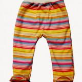 Pantalonasi cu botosei - dungi colorate
