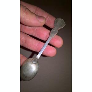 Lingurita cu blazon argint 800 Turcia
