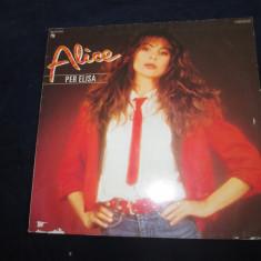 Alice - per elisa _ vinyl, LP, album, germania - Muzica Pop emi records, VINIL