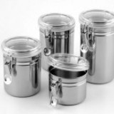 Set recipiente 4in1 din inox