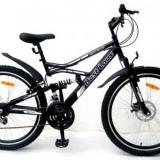 "Bicicleta Mountain Bike 26"" jante duble suspensie frana disc pe fata Best Laux LMS2628"