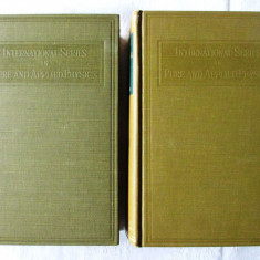 METHODS OF THEORETICAL PHYSICS Part I+II, Philip Morse /Herman Feshbach, 1953 - Carte Fizica