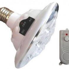 Bec LED cu acumulator si telecomanda, Becuri LED