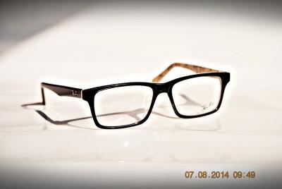 Rame de ochelari ray ban RB5278  negru cu print pe interior foto