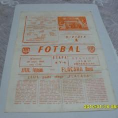 program        Jiul  Petrosani  -  Flacara Moreni