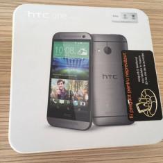 Vand telefon HTC one mini 2 (Grey), functioneaza 10/10, aspect 9/10 - Telefon mobil HTC One Mini 2, Gri, Orange