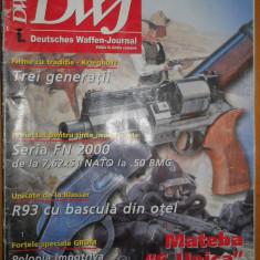 REVISTA DE ARME DWJ - ANUL 1 EDITIE IN LIMBA ROMANA ( VANATORI, COLECTIONARI ) - Revista barbati