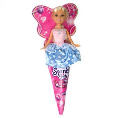 Papusa Funville Sparkle Girlz Princess Blonda Platinata